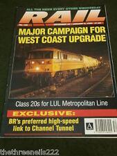 RAIL #190 - WEST COAST UPGRADE - DEC 23 1993