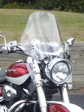 Adjustable Universal Motorcycle Windshield for Cruisers