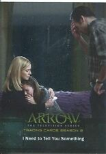 Arrow Season 2 Silver Foil Parallel Base Card #37 I Need to Tell You Something