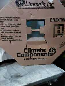 """Linesets Inc. Climate Components 1/4"""" - 3/8"""" Insulated Copper Coil Line Set"""