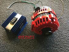 Chevy  Alternator 350 High Amp with External ADJUSTABLE Regulator Powder Coated.
