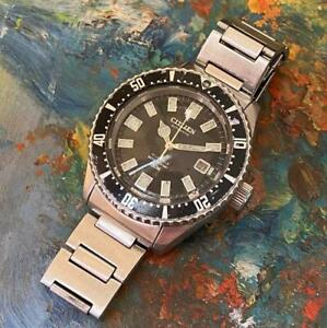 CITIZEN DIVER 150M REFERENCE 52-0110 AUTOMATIC VINTAGE WATCH 100% GENUINE 41MM