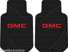 gmc general motors factory floor mats rubber car truck auto universal protector