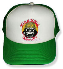 King Kong Company Logo Embroidered Trucker Hat Taxi Driver Travis Bickle Cab Cap