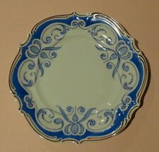HUTSCHENREUTHER MÜLLER Art Deco KLEE Draft School Blue ARABESQUE SALAD PLATE 20s