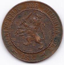 1881 Netherlands 2 1/2 Cent***Collectors***High Grade***
