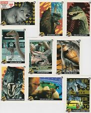 1993 JURASSIC PARK SERIES 1 STICKER SET