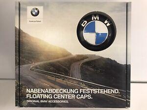 BMW OEM GENUINE FLOATING CENTER CAPS SET! E-series, F-series