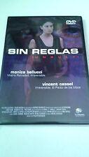 "DVD ""SIN REGLAS"" MONICA BELLUCCI VINCENT CASSEL PHILIPPE BERENGER UNRULY"