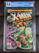 Uncanny X-MEN #99 - CGC 7.0 - 1ST APPEARANCE Black Tom Cassidy - Marvel 1976