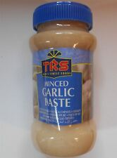 Minced Garlic Paste - 300g Plastic Jar - TRS Brand