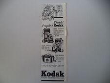 advertising Pubblicità 1954 KODAK 620 MOD. 36/JUNIOR II/BROWNIE 127