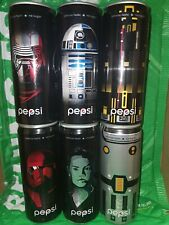 rare china pepsi cola Star Wars limited edition can of 6 empty