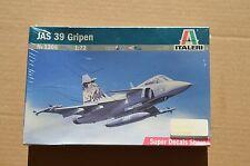 NEW Italeri 1/72 JAS 39 Gripen 1306 Model Airplane Kit