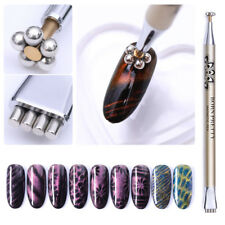 BORN PRETTY Dual-ended Cat Eye Magnetic Stick Flower Strip for UV Gel Nail Tool