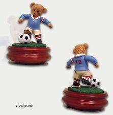 Thread Bears - World Cup Thread Bear Soccer Star Musical Figurine - MBA Reg $95