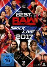 3 DVDs * WWE - THE BEST OF RAW & SMACKDOWN LIVE 2017 # NEU OVP &