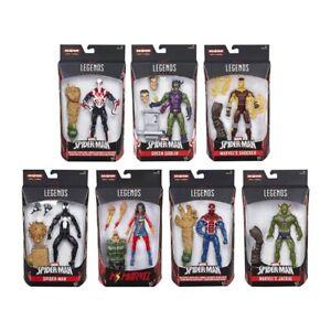 Pupazzi Marvel's Legends serie Spider-Man alti 15 cm, con accessori, 4+