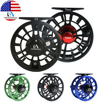TORO Fly Fishing Reel 3/4 5/6 7/8WT Large Arbor CNC Machined Aluminum Left/Right