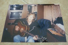 Shawn Camp Young Early Signed Autograph Color Promo Photo 8x10