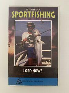 Rod Harrisons Sportfishing Sport Fishing VHS LORD HOWE Vol 5 Free Post