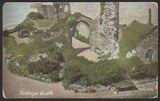 Hastings, East Sussex. Hastings Castle. Vintage Shurey's Postcard