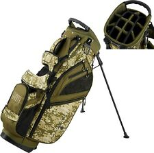 New Maxfli Honors + Plus Golf Stand Bag 14 Way Top Camo USA Rain Hood