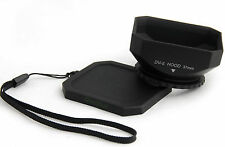 37mm lens hood + cap for Digital Camcorder DV Sony TRV