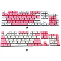 Translucent Double Shot PBT 104 KeyCaps Backlit for Cherry MX Keyboard Switch C