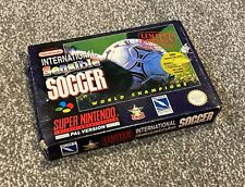 International Sensible Soccer World Cup - SNES