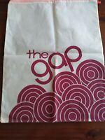 "Vintage Gap Logo Laundry Bag "" the gap "" Utility Bag With Drawstring Closure"