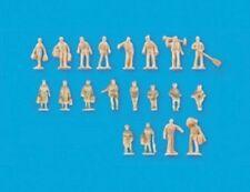 N gauge Unpainted figures set B – Model Scene 5157 - free post
