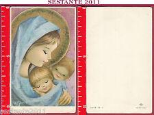 1877 SANTINO HOLY CARD MADONNA CON GESù BAMBINO NB LUCE 33 - 3