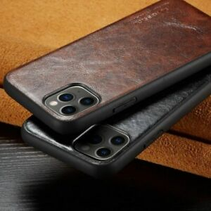 Phone Leather Back Case Dirt-Resistant Plain Cute Luxury Slim Cover For iPhone