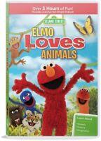 Sesame Street: Elmo Loves Animals [New DVD] Amaray Case