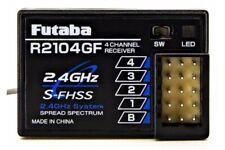 Futaba R2104GF 4-Empfänger S-FHSS / FHSS 2,4GHz für Auto und Boot - 01000523