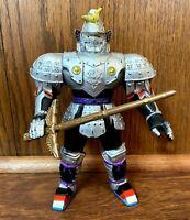 "Silent Knight Vintage Power Rangers Evil Space Aliens 8"" Figure 1995 Bandai 90s"