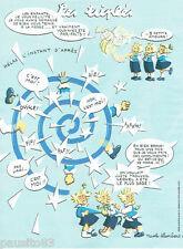 PUBLICITE ADVERTISING 125  2011  NICOLE LAMBERT  les triplés  le plus sage