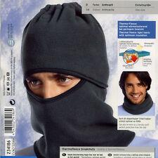 NEW Ski Motorcycle Winter Thermal Fleece Balaclava Full Face Neck Mask Hat Black