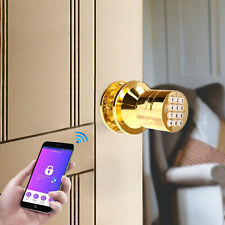 Bluetooth Electric Keyless Smart Lock with Key Pad Battery Backup Security