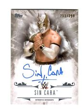 WWE Sin Cara 2016 Topps Undisputed On Card Autograph SN 253 of 299