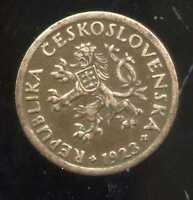 TCHECOSLOVAQUIE  10 haleru 1923  ( 1 )  ( bis )