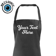 Childrens Apron Custom Printed - Personalised Any Text Kids School Baking Craft