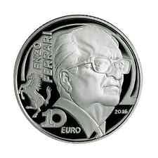 10 euro Italie 2016 argent BE - Enzo Ferrari