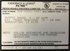 GIDDINGS & LEWIS : Pic900 : I/O - Analog mAmp : 6 Channels # 502-03681-00 R1
