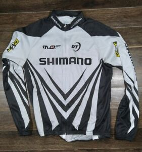 Team DMT Shimano Long  jersey shirt cycling maillot size Large