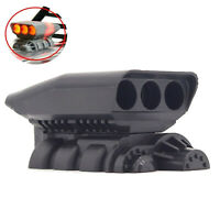 Supercharger Engine Hood Cover Air Intake for 1/10 AXIAL Wraith 90018 RC Car BEU