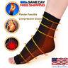 Foot Plantar Fasciitis Arch Support Compression Socks Ankle Heel Brace Copper
