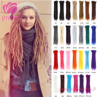 10 Pieces 20'' Synthetic Dreadlocks Crochet Braids Hippie Dreads Hair Extensions