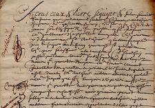 1647-1667 Paris rente CHAPPELLIER AUBEREAU RENAULT OUDIN GERVAISE médecin du Roi